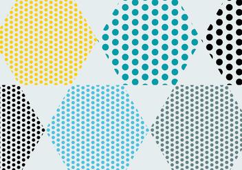 Polka Dot Pattern Vectors - Kostenloses vector #201285