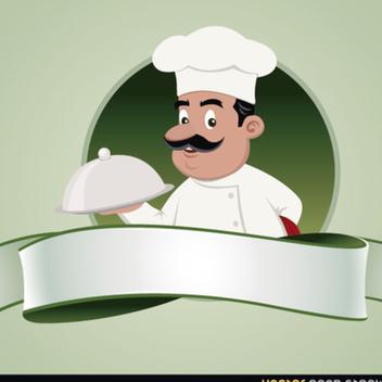 Free Vector Chef Emblem - Kostenloses vector #202375