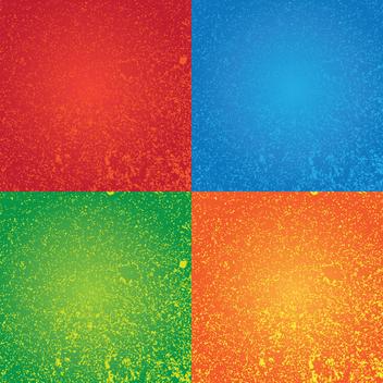 Free Grungy Splatter Vectors - Free vector #202465
