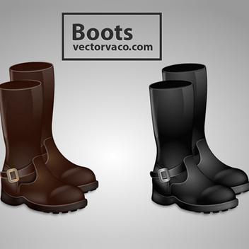 Free Vector Boots - vector #202645 gratis