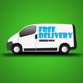 Free Delivery Icon - Free vector #203335