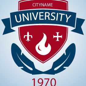 University School Logo - Free vector #203385