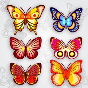 Butterflies 20 - Free vector #203675