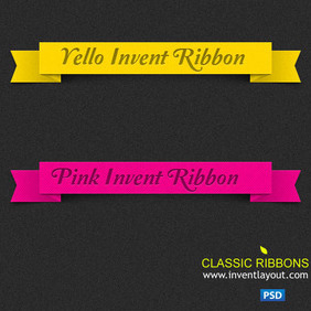 Invent Classic Ribbons - Free vector #204115