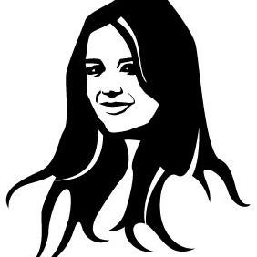 Katie Holmes Portrait - бесплатный vector #204445