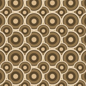 Nice Circle Seamless Vector Pattern - Free vector #204545