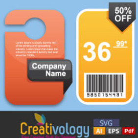 Free Beautiful Price Tag - vector gratuit #204705