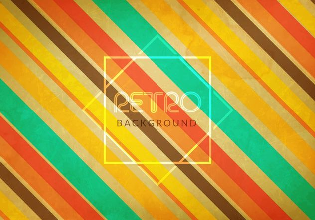 Grunge Background retrô - Free vector #205165