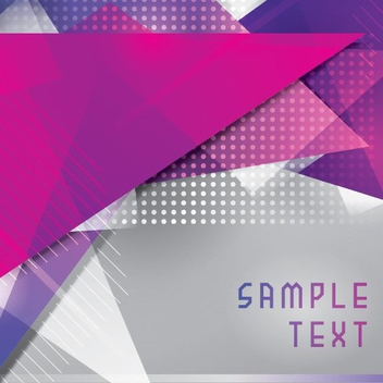 Purple Triangles - vector #205405 gratis