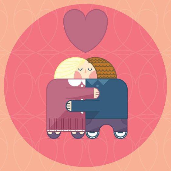Hugs - Free vector #205425
