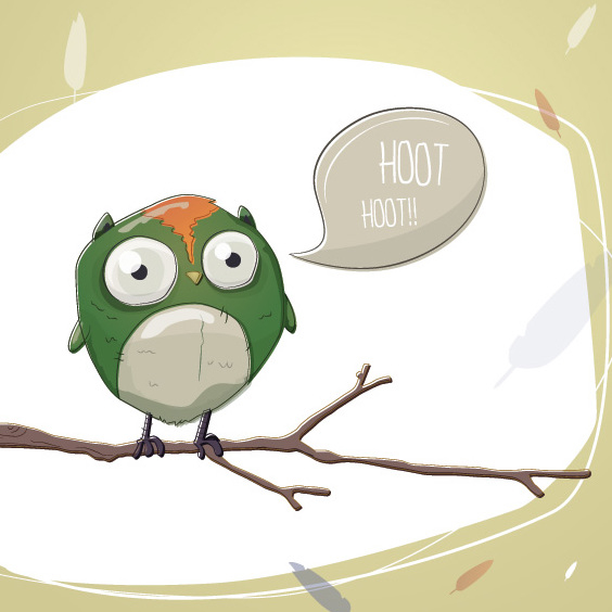Owl Stories - Free vector #205745