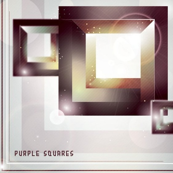 Purple Squares - Free vector #205765