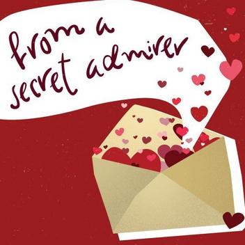 Valentine's Day Love Letter - vector gratuit #205865