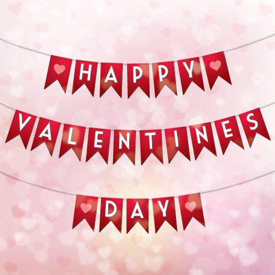 Célébration de la Saint-Valentin - vector gratuit #205875