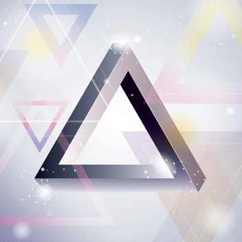 Triangle Background - vector gratuit #205885