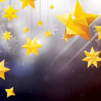 Star Ornaments - vector #205975 gratis