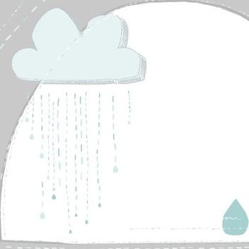 Rain Rain - vector gratuit #206015
