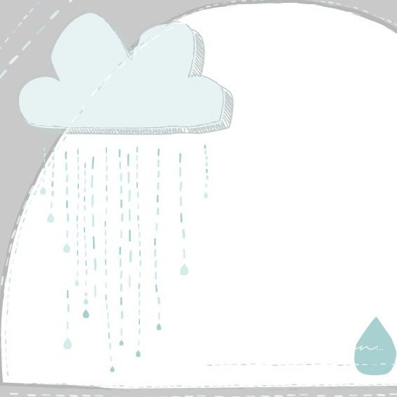 Pluie pluie - vector gratuit(e) #206015