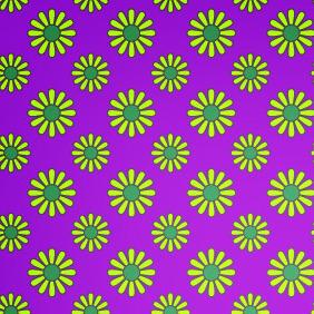 Vibrant Retro Style Seamless Petal Pattern - Free vector #206475