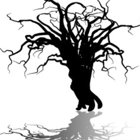 Old Tree - vector gratuit #206515
