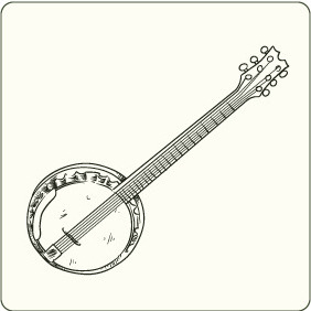 Music Instruments 4 - vector gratuit #206755