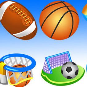 Free Vector Sport Icons - Kostenloses vector #206765