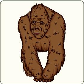 Monkey 3 - Kostenloses vector #206785