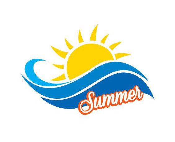 Летом знак - бесплатный vector #206795