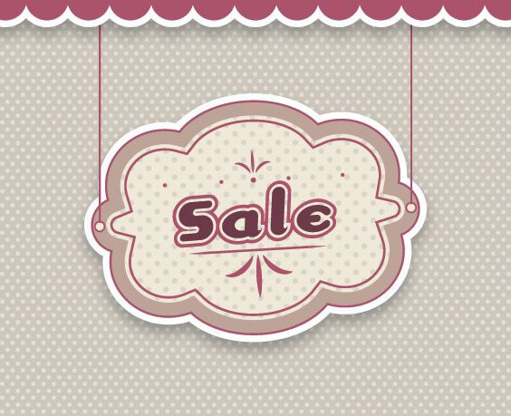Sale Banner - Free vector #206855