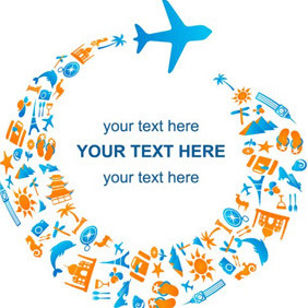 Tourism Concept - Kostenloses vector #206925