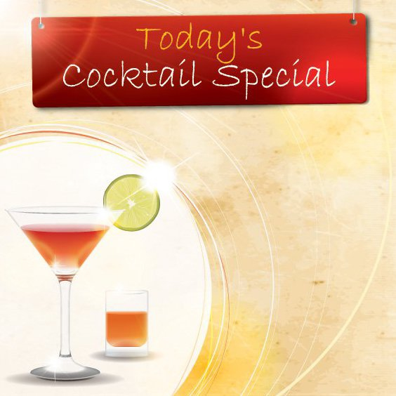 Cocktail Special - Free vector #206965