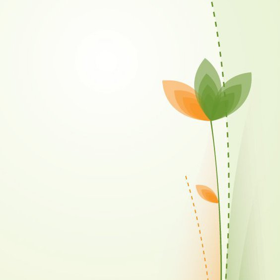 Playful Flower - Free vector #207235