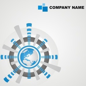 Corporate Business Template - Free vector #207465