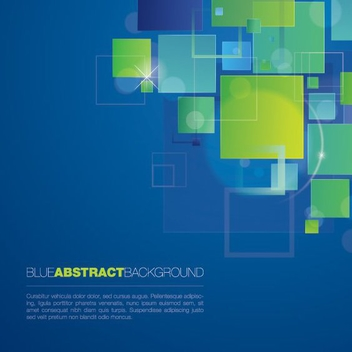 Blue Abstract Background - vector gratuit #207515