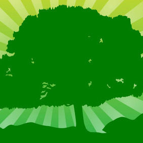 Green Tree - vector #207775 gratis