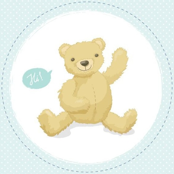 Teddy Bear - vector gratuit #207905