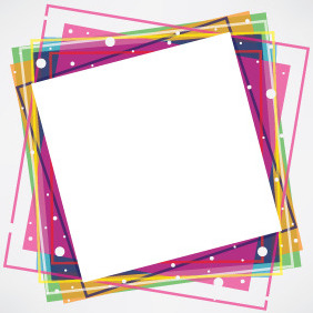 Colorful Cubes Background - Kostenloses vector #207915