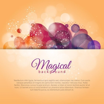 Magical Background - vector #208065 gratis