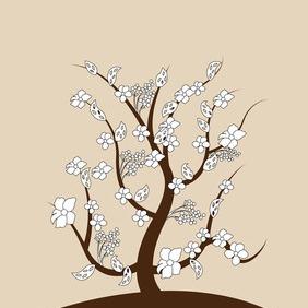 Vector Spring Tree - Free vector #208105
