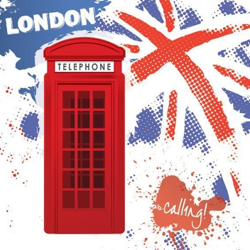 London Calling - vector gratuit #208155
