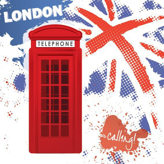 London Calling - Free vector #208155
