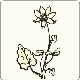 Flower 5 - бесплатный vector #208375
