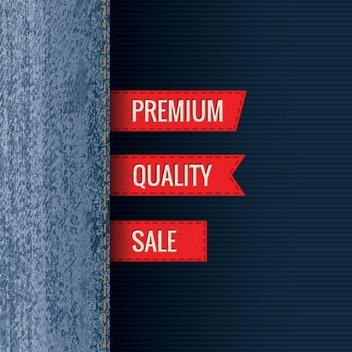 Premium Jeans - Kostenloses vector #208395