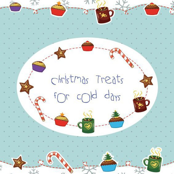 Christmas Treats - Free vector #208605