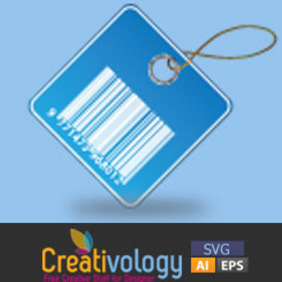 Free Vector Barcode Price Tag - бесплатный vector #208915