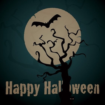 Happy Halloween - vector gratuit #208965