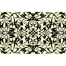 Ornamental Panel - Free vector #209055