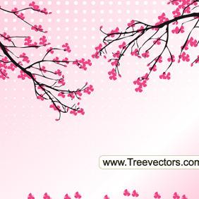 Blossom Tree Vector - vector #209265 gratis