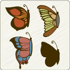 Vector Butterflies 1 - Kostenloses vector #209335