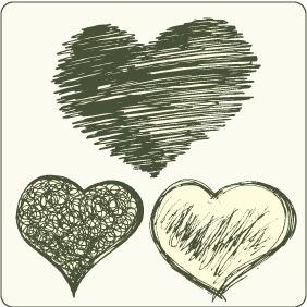 Hearts Set 3 - Kostenloses vector #209495